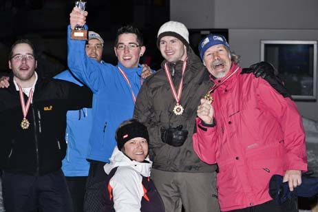 schneeschuh biathlon - die sieger