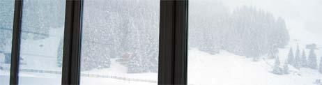 halbzeit und schneefall