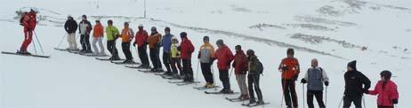 skifahren ist schoen