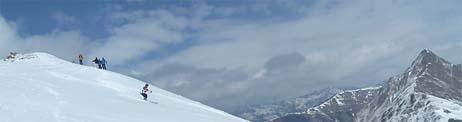 skiwanderung frauenwand hintertux zillertal